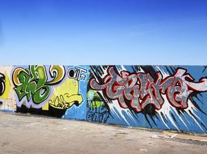 Skribenten är tveksam till laglig graffiti.Foto: Arkivbild/VLT