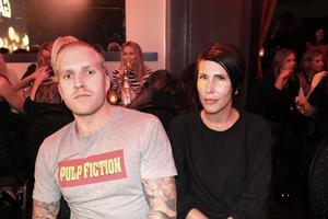 Henrik Hallén och Lotta Kujanpää från Nole Fastighet var förväntansfulla: