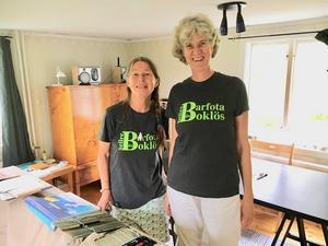 Annika Rockström arbetar som illustratör och Anneriel van Heugten är barnboksförfattare i Holland. Just nu befinner de sig i Björköby för ett internationellt samarbete. På lördag gästar de en fikaföreläsning på Konditori Cecil.