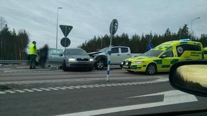 Olyckan ska ha inträffat i korsningen mellan väg 252 och riksväg 66. Foto: Läsarbild