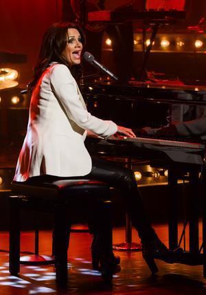 Sången eller pianospelet hade inga skavanker överhuvudtaget.