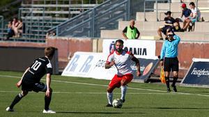Stefan Batan har spelat yttermittfältare i Assyriska under säsongen.