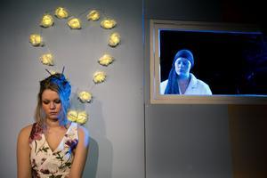 Scen ur esteternas teaterföreställning i Sollefteå. Utbildningen är numera nedlagd. Arkivbild.