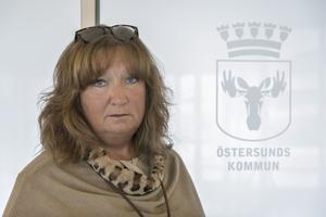 Maria Nerpin, ordförande för Socialdemokraterna i Östersund.
