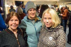 Sigrid Odencrantz, Örebro, med rötterna i Funäsdalen, tycker att det finns nått för alla i Tänndalen. Här med