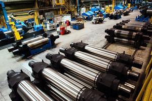 Basindustrin i Sverige har halkat efter när det gäller det samlade produktionsvärdet.