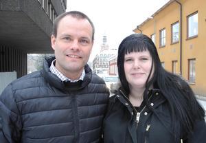 Mats Berglund, integrationschef i Falu kommun, och Cia Embretsén, projektledare, informerade under torsdagen om en utveckling av tidigare lyckade projektet