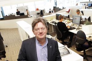 Västerås stads stadsdirektör Bo Dahllöf deltar i lördagens diskussion på VLT. Foto: Anders Forngren