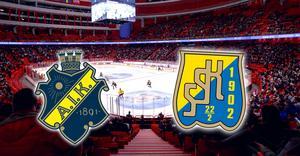 AIK och SSK ska mötas i Globen den 26 december – men matchen kan tvingas flyttas om publikintresset är för svalt. Foto: Bildbyrån