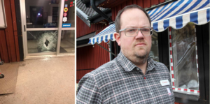 För andra natten på några dygn har Anders Kindblads Ica-butik i Dala-Floda utsatts för inbrottsförsök.