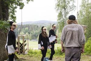 På bild syns smilfinkarna. Från vänster: Alexander Pettersson, Selma Wallberg och Linus Larsson.