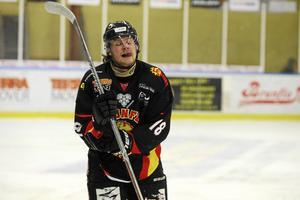Emil Eriksson, här i Brunflos tröja, är ett av nyförvärven i Troja Ljungby.