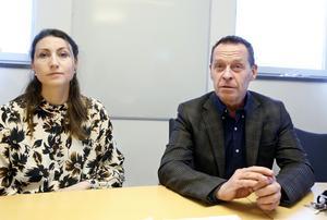 Smittskyddsläkarna Annika Ersson och Micael Widerström följer utvecklingen av det coronavirus som fått namnet 2019-nCoV noga.