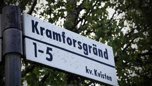 Visste du att Kramfors har en egen gata i Stockholm, i stadsdelen Stureby?