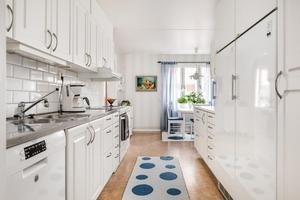 Denna lägenhet på Åsgatan i Falun kom på sjunde plats på Dalarnas Klicktoppen för förra veckan. Foto: Kristofer Skog/Husfoto