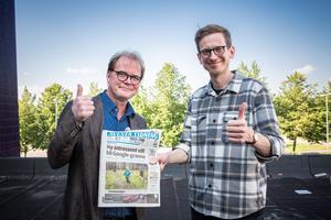 Björn Häger och Gabriel Ehrling Perers.