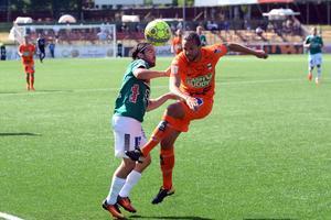 Robbin Sellin i Brages 1–0-match hemma mot Varberg.