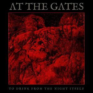 Omslaget på At the gates nya album