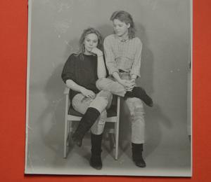 Tidigare fanns en grupp på Domnarvets fritidsgård som höll på med fotografi och sedan framkallade sina egna svartvita bilder.
