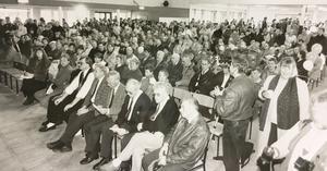 1 maj i Hallstahammar 1991.
