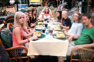 Kafégruppen får använda överskottet av årets försäljning till en aktivitet. 2008 åkte gruppen till Turkiet.