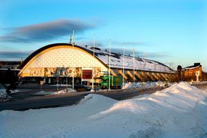 Sporthallen. Bild: Håkan Humla/arkiv