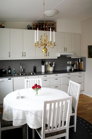 Eva-Marianne Hallgrens kök.