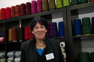 Det är kul för det är extremt mycket folk idag, säger Margareta Larsson, VD Holma-Helsingland.
