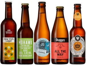Fem riktigt bra nya öl har tagit plats i Systemets hyllor.
