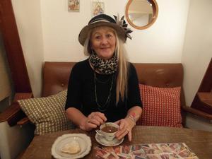 Carina Aynsley, författare i Sundsvall är med i novellantologin