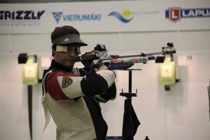 Fältjägarnas 20-årige luftgevärsskytt Jörgen Persson är uttagen i den svenska EM-truppen. EM blir därmed hans första tävling som senior.Arkivbild