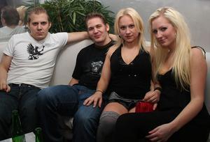 Silk. Pär, Kristian, Anna och Anna