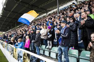 Matchen mot Östersund lockade en stor publik.