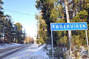 OKLART. Vid Norra Brännskär här i Fagerviken vill en privatperson bygga 22 villor eller fritidshus. Men planerna kan grusas av strandskyddsbestämmelser.
