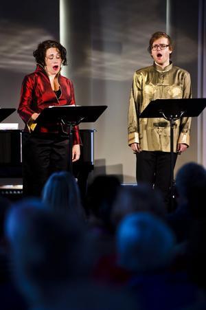 Vokalkvartetten Fleder bestående av Jessica Bäcklund (sopran), Ulrika Skarby (alt), Love Enström (tenor) och Rickard Collin (bas) uppträdde med den näst sista sommarkonserten i Kyrkan hus, Sundsvall.