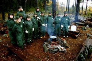 62 tjejer hade anmält intresse för övningen, men bara ett fåtal fick möjligheten.