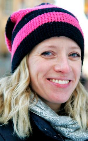Jenny Novén, 34 år, Östersund: – Min son Oscar som blir sex månader i helgen. Han är så go och glad. Och så vill jag krama min sambo Peter, för att han alltid finns där.