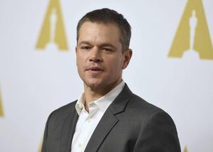 Matt Damon spelar en av huvudrollerna i