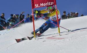 Frida Hansdotter och Sverige knep ett brons i St Moritz.