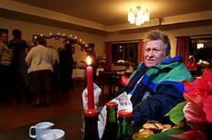 Foto: GUN WIGH�Viktor, uteliggare� Så presenterade sig Viktor när Gefle Dagblad mötte på Frälsningsarméns julfirande.