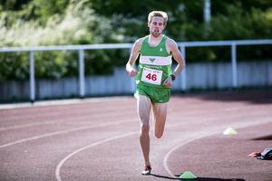 Rasmus Grelson som satte nytt tävlingsrekord i 1500 meter med tiden 3.57,38.