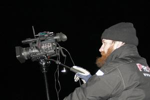 Filmade gjorde Fredrik Sellstedt från Pro Stage.