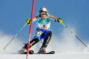 Anja Pärson slutade på en elfteplats.