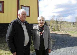 Ingvar Holmgren, som gifte sig med Algot och Gullans dotter, var bekant ansikte från förr som Britta Lundberg fick träffa igen vid återbesöket på Krongården.