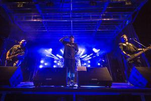 Lillasyster var ett av banden som spelade på festivalen i Edsbyn.