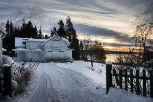 Petersvik i vintervila.