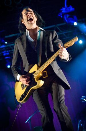 Nick Cave and The Bad Seeds är ett av dragplåstren på årets Roskildefestival.