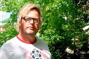 Mikael Andersson, ny ordförande i Sala Hockey. Foto: Niclas Bergwall
