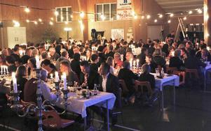 Så här såg det ut i januari då 200 personer kom till ungdomsgalan på Åbyggeby landsbygdscenter.
