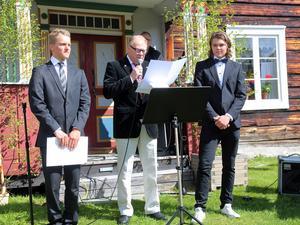 Lions stipendium delades ut av Kjell Tjärnås. Det blev Jakob Björns och Mattias Bergström som i år delade på utmärkelsen.